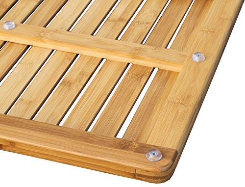 Oceanstar FM1163 Bamboo Floor And Shower Mat