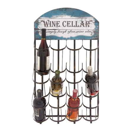 Styled Metal Wall Wine Rack Home Decor Contemporary Wine Rack Wine