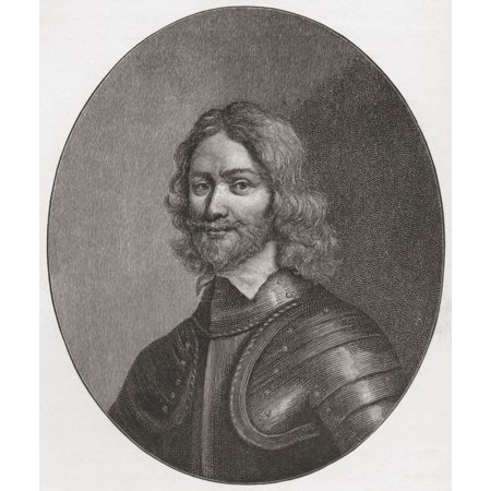 Henry Ireton 1611 To 1651 English General In The Parliamentary Army During The English Civil War Son-In-Law Of Oliver Cromwell From The Book Short History Of The English People By JR Green Published (Oliver Cromwell And The New Model Army)