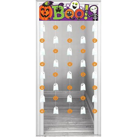 Family Friendly Halloween Doorway - Friendly Halloween