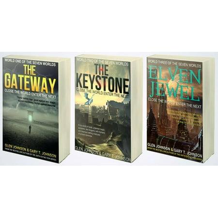 Gaines Original Keystone Series - The Seven Worlds Series. The Gateway, The Keystone & Elven Jewel. Omnibus Edition. Books 1 to 3. - eBook