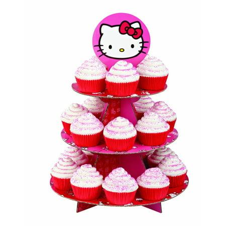 Hello Kitty Cupcake Treat Stand