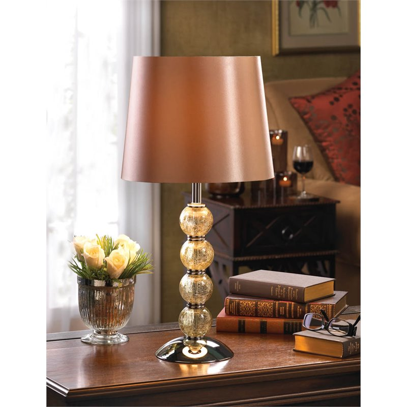 Zingz and Thingz Glass Orb Table Lamp by Zingz & Thingz