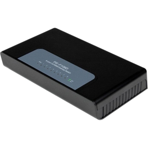 StarTech.com 8 Port Fast Ethernet Switch - 10/100 Desktop Wall Mount Network Switch - 8 x RJ-45 - No - 10/100Base-TX - No - Desktop, Wall Mountable DESKTOP SWITCH