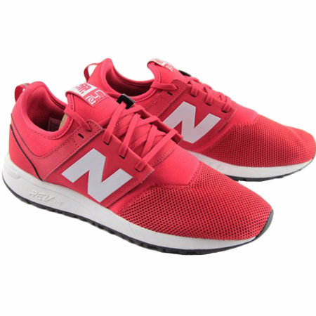 New Balance MRL247RW: 247 Classic Low Top Red White Mens Running Sneakers (11 D(M) US Men, Red White)