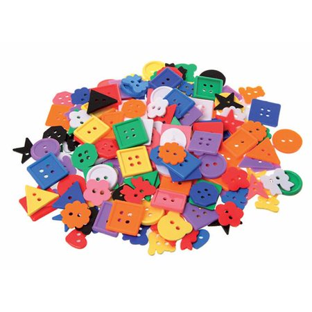 Learning Advantage CTU7177 Assorted Small Buttons 1Lb - image 1 of 1