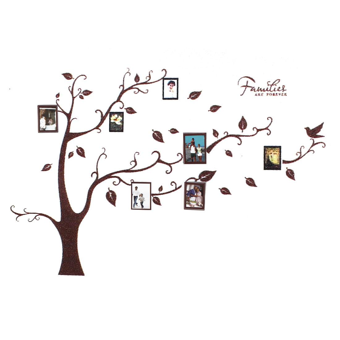 Vinyl Families Tree Branch Trunk Wall Art Sticker Decal Home Decor Mural