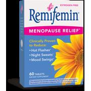Remifemin Menopause Relief* Dietary Supplements, Estrogen-Free, 60 Tablets
