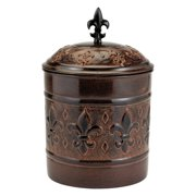 "4 Qt. ""Versailles Cookie Jar with Fresh Seal® Lid"