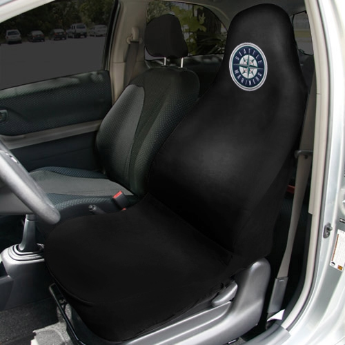 Seattle Mariners Car Seat Cover - Black - No Size