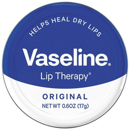 Vaseline Therapy Lip original Baume à lèvres Tin, 0,6 Oz
