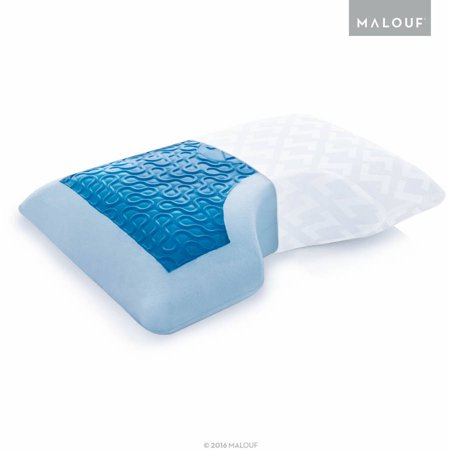 Z Gel Memory Foam With Liquid Z Gel Side Sleeper Pillow