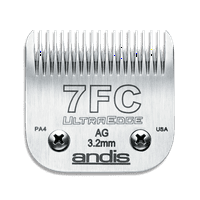 Andis UltraEdge Detachable Blade Set, Size 7FC, 1/8 Inches, 3.2 mm