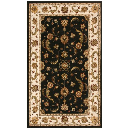Dynamic Rugs Jewel 70113 Persian Rug - Charcoal/Beige