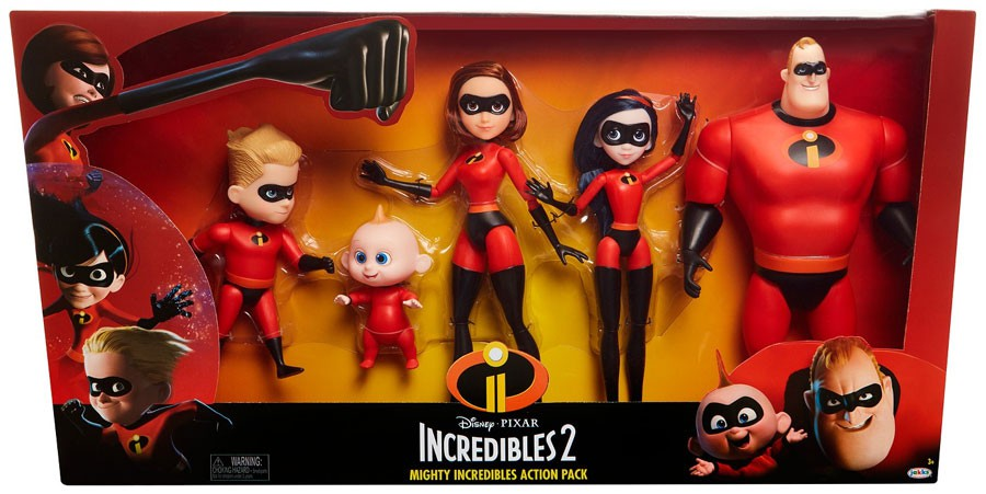 Disney / Pixar Incredibles 2 Mighty Incredibles Action Pack