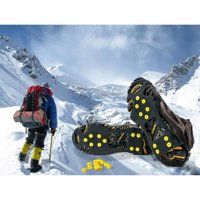 1 Pair Walk Traction Ice Cleat, Non-slip Ice Grips for Shoes and Boots Size:XL