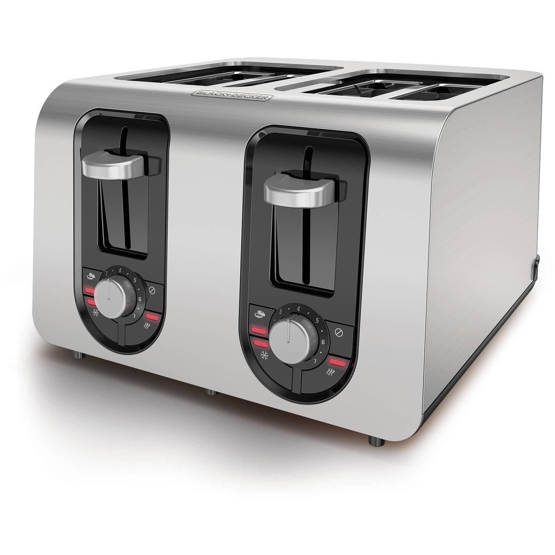 BLACK+DECKER 4-Slice Toaster, TR6341S by Spectrum Brands