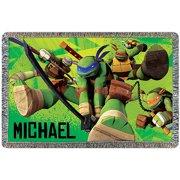 Personalized Teenage Mutant Ninja Turtles Leonardo Leads Throw
