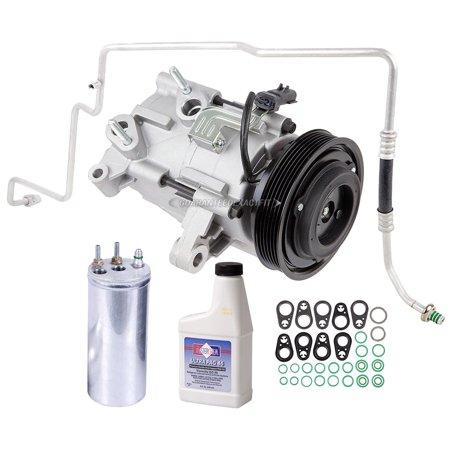 AC Compressor w/ A/C Repair Kit For Jeep Liberty 2006