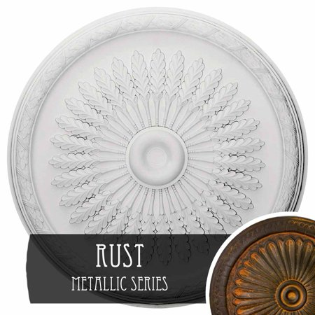 36 OD x 1 1 2 P Juniper Ceiling Medallion Fits Canopies up to 7 Hand