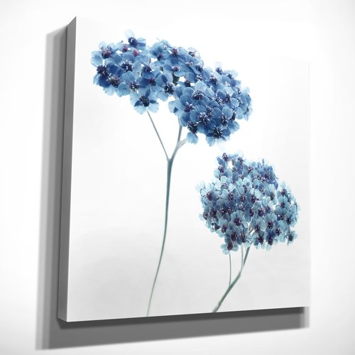 Ivy Bronx 'Gorgeous Blue Ill' Oil Painting Print on Wrapped Canvas