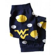 Little Big Fan West Virginia Univ Arm & Leg Warmers - Polka Dot