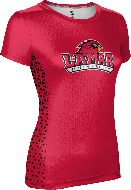 Geometric ProSphere Lamar University Mens Fullzip Hoodie