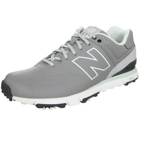 New Balance Mens Nbg574 Golf Shoes 10 1/2 Us D Grey