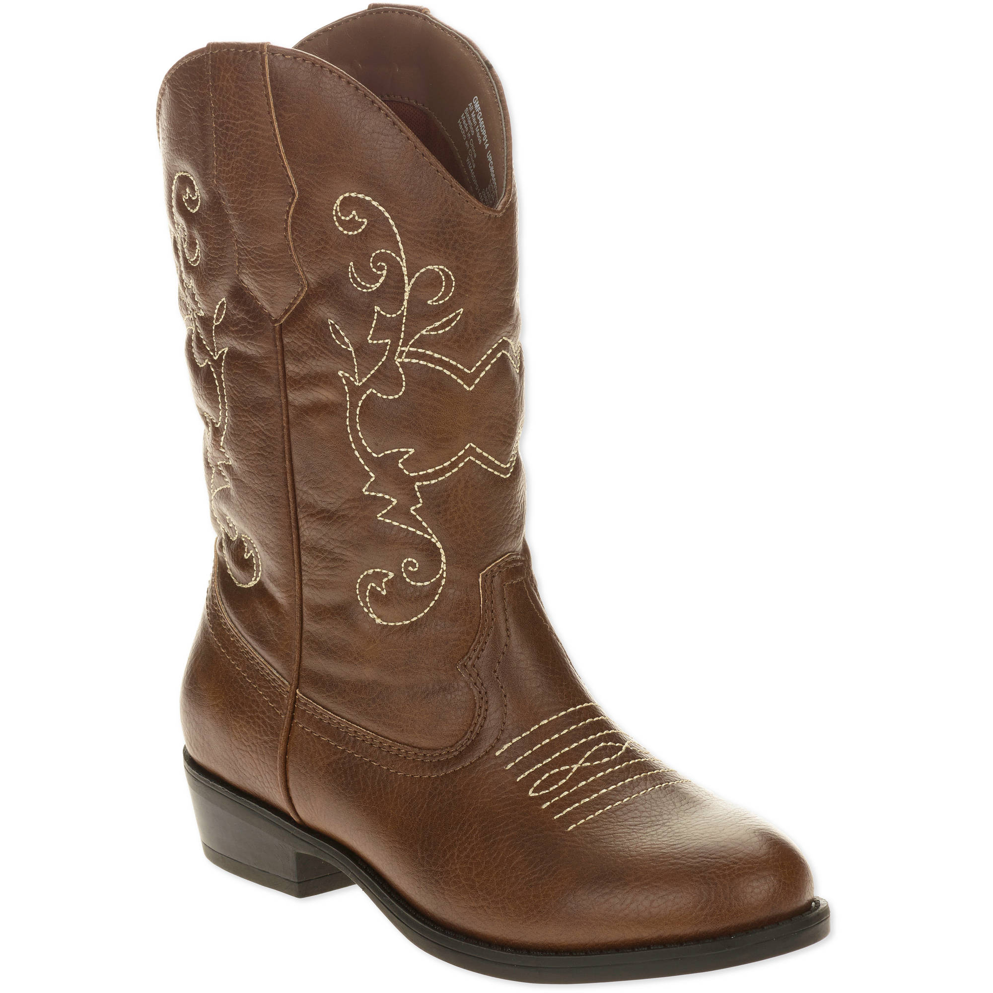 Faded Glory Girls' Cowboy Boot ONLINE ONLY - Walmart.com