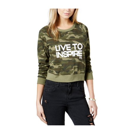 Boy Meets Girl. Womens Live To Inspire Sweatshirt thumbnail