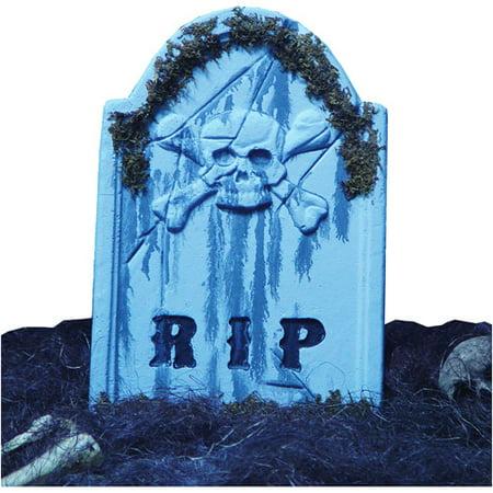 Funny Tombstone Halloween Names (Halloween Tombstone Skullface, 22