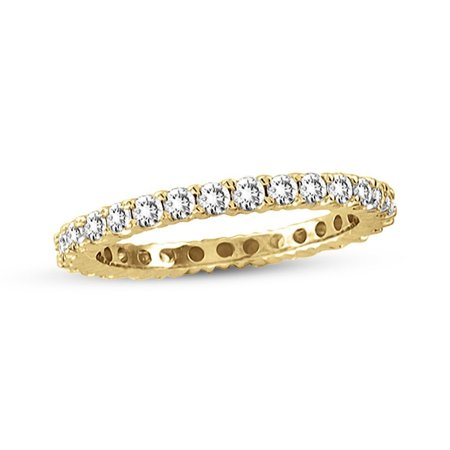1/2 Ct Tdw Diamond Band (14K Yellow Gold 1/2 ct TDW Diamond Eternity Band)