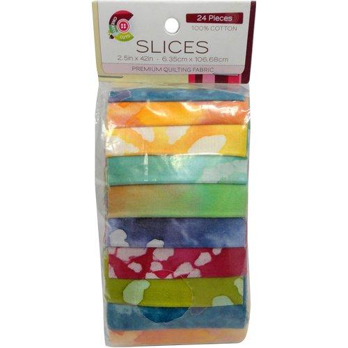 Creative Cuts Spring Batik Slices-strips