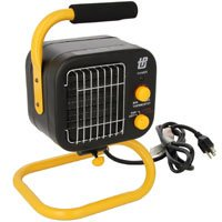 TPI 178TMC Fan Forced Portable Heater, 5120 BTUH, 1500 W