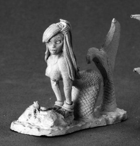 Reaper Miniatures Coral, Mermaid #03554 Dark Heaven Legends Unpainted Metal