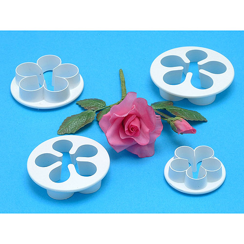 Petal Cutter Set 4 Pieces-Five Petal