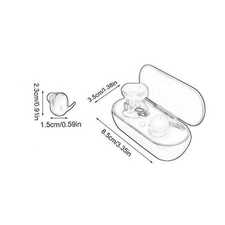 Y30 Wireless Headset Sports Outdoor Headset 5.0 Binaural Stereo Mini Headset - image 2 of 5