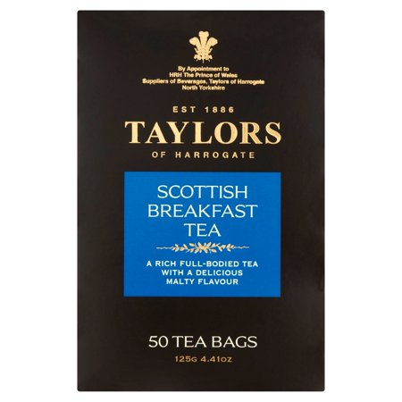 Taylors of Harrogate Scottish Breakfast Tea Bags, 50 count, 4.41 oz (Taylors English Breakfast Tea)