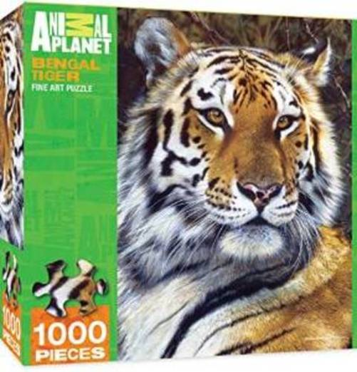 Masterpieces Animal Planet Bengal Tiger 1000 Piece Jigsaw Puzzle By Carl Brenders