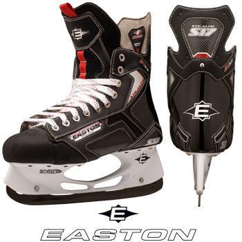 New Easton Stealth S15 IHS Junior 4.5 Regular Ice Hockey Skates Gray Black by Easton