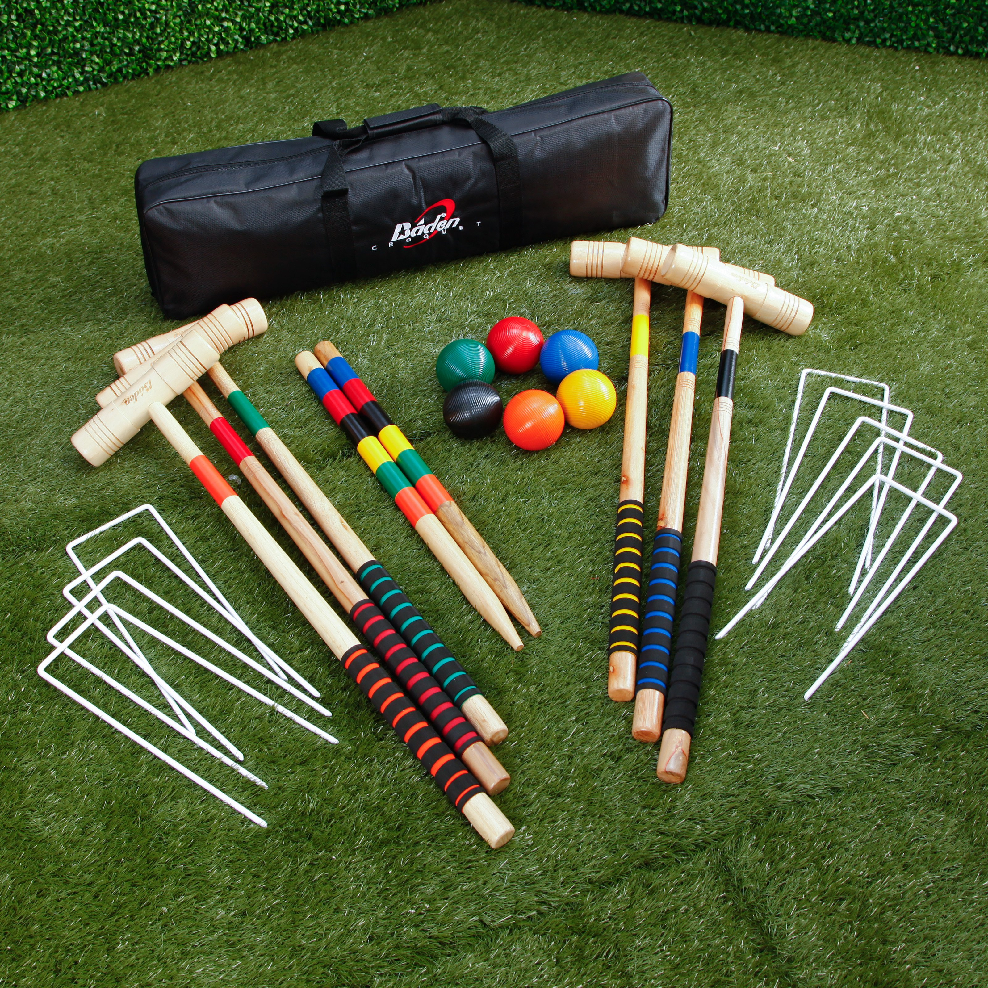 Baden Champions Series Croquet Set