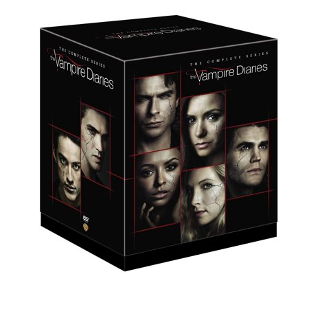 The Vampire Diaries The Complete Series Dvd Walmart
