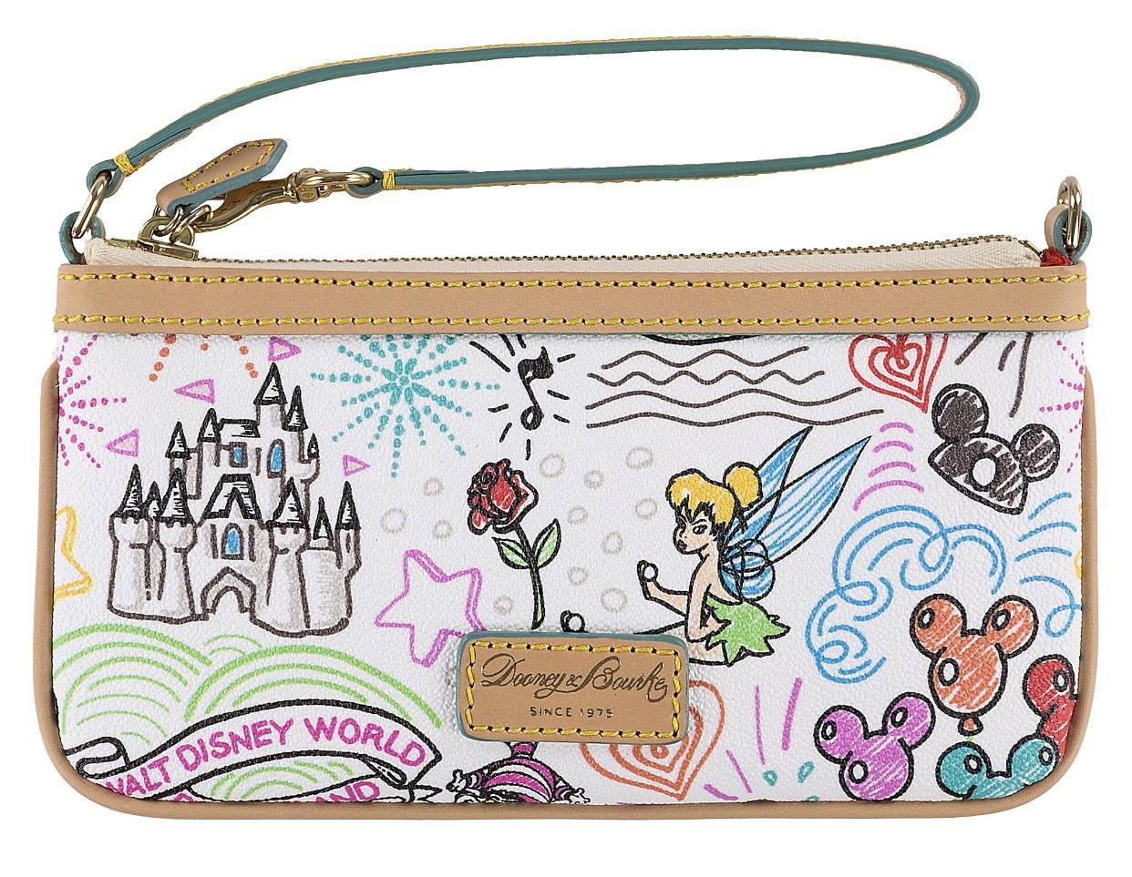 Custom Hand Painted UP Adventure Is Out There Dooney /& Bourke Wristlet Wallet Disney accessory womens fashion