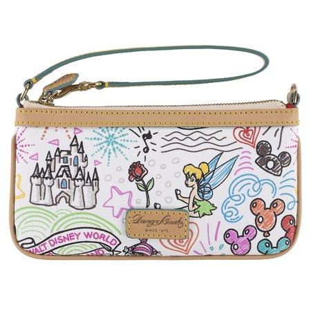 Dooney & Bourke Mini Wallet (Disney Sketch Wristlet by Dooney & Bourke New with)