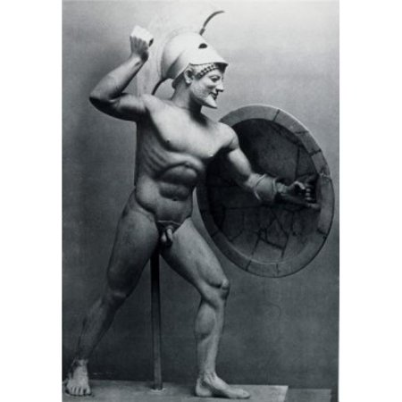Superstock SAL995352 Statue of Ares-The God of War C. 400 B.C. Greek Art Marble Sculpture Poster Print, 18 x (Greek God Sculpture)