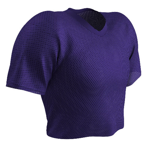 Champro Poly Porthole Mesh Waist Length Football Practice Jersey, Youth or Adult