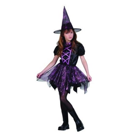 RG Costumes 91416-S Glitter Spider Witch Costume - Size Child Small 4-6 - Glitter Witch Child Costume