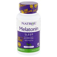 Natrol Extra Strength Melatonin Sleep Tablets, 5 mg, 100 count