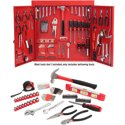 Hyper Tough 151-Piece Metal Wall Cabinet Tool Kit