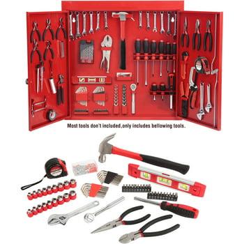 Hyper Tough 151-Piece Wall Cabinet Tool Kit